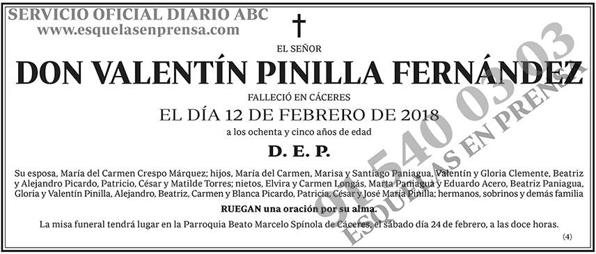 Valentín Pinilla Fernández